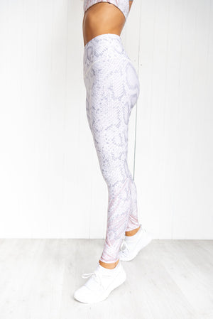 Athena High Rise Graphic Legging - PURE DASH