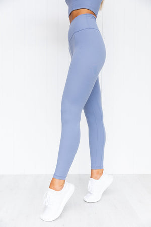 NKD High Waist Leggings - Stonewash - PURE DASH