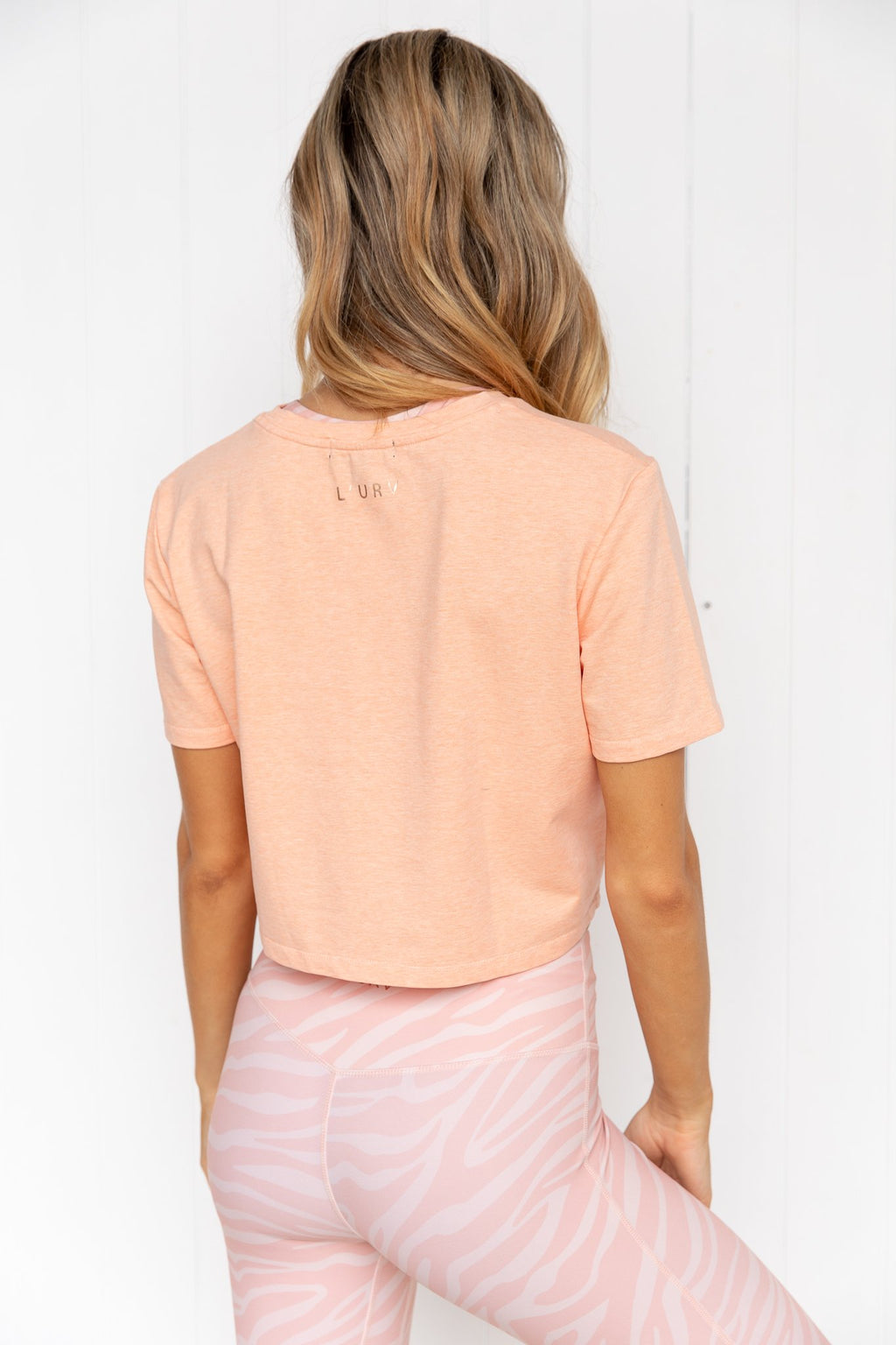 Game Changer Tee - Apricot - PURE DASH