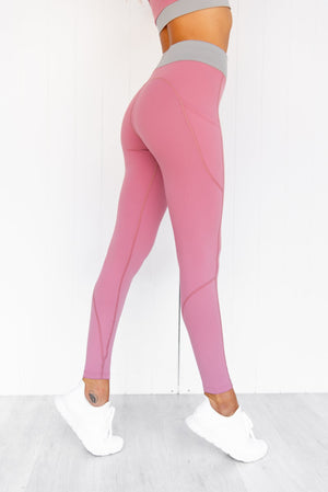 Rosewood Flex Zone Full Length Tights - PURE DASH