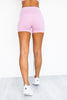 Pastels High Waisted Booty Shorts - Lavender - PURE DASH