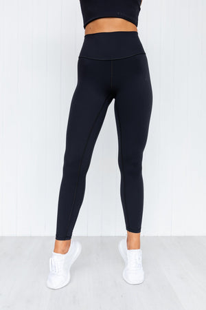 NKD High Waist Leggings - Black - PURE DASH