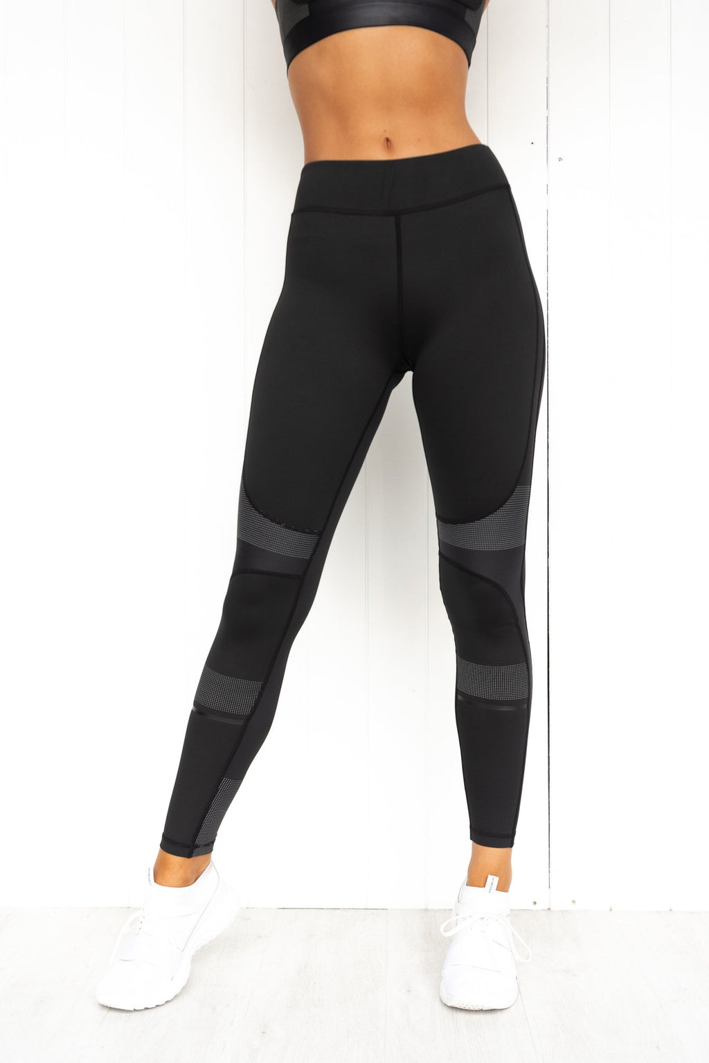 Harper Tarmac Black Leggings - PURE DASH