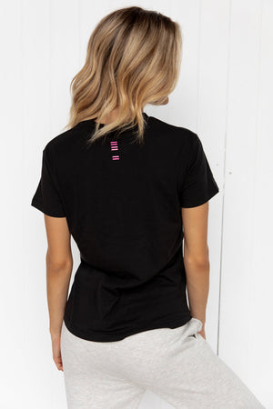 Slim T Shirt - Black - PURE DASH