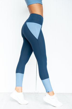 Athletic Midi Leggings - Pebble - PURE DASH