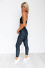 Zinnia Dark Wash Legging