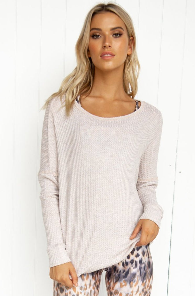 Raglan Pull Over: Oatmeal