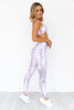 Tie Dye Mandala High Rise Leggings