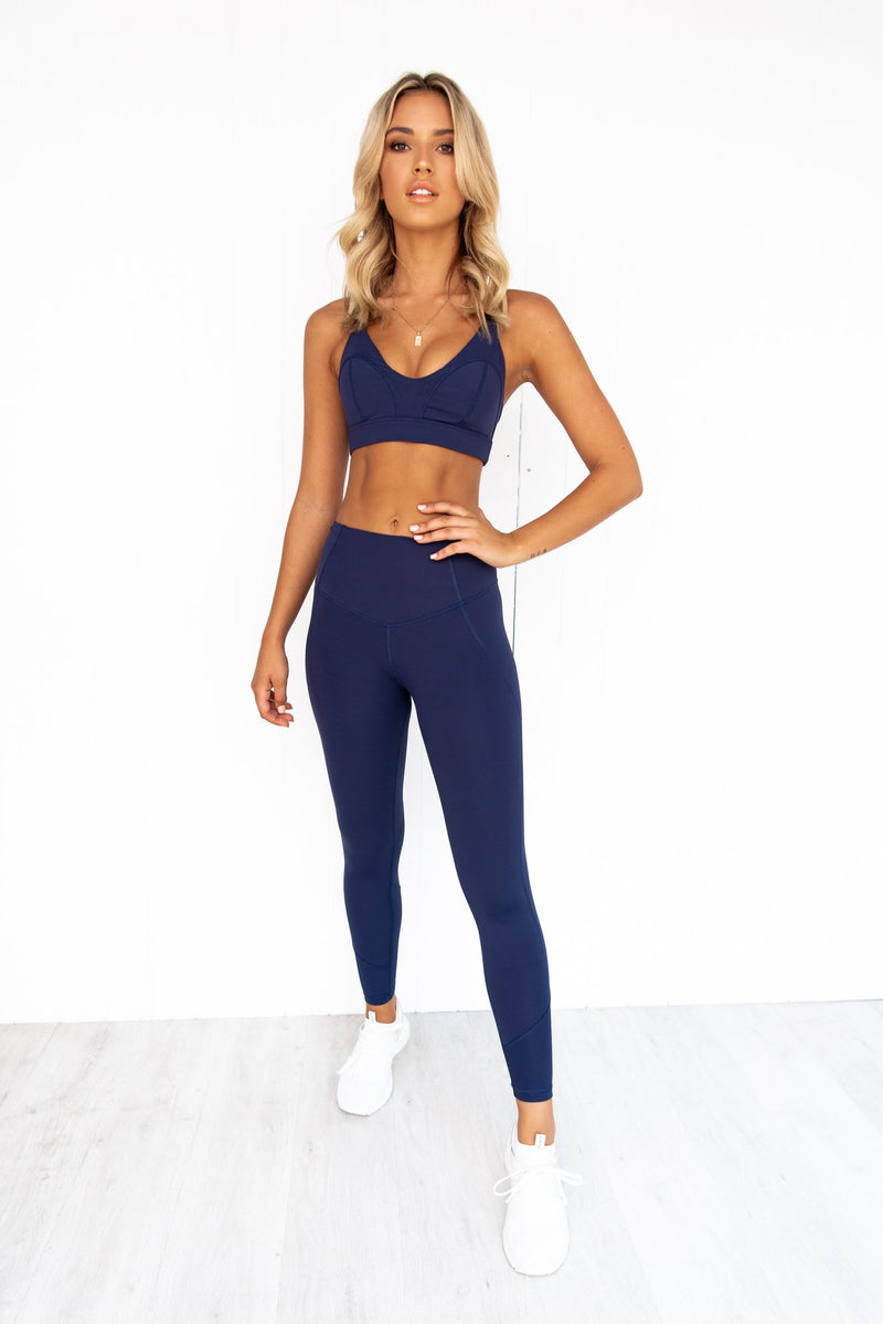 Liza Blue Eclipse Crop - PURE DASH
