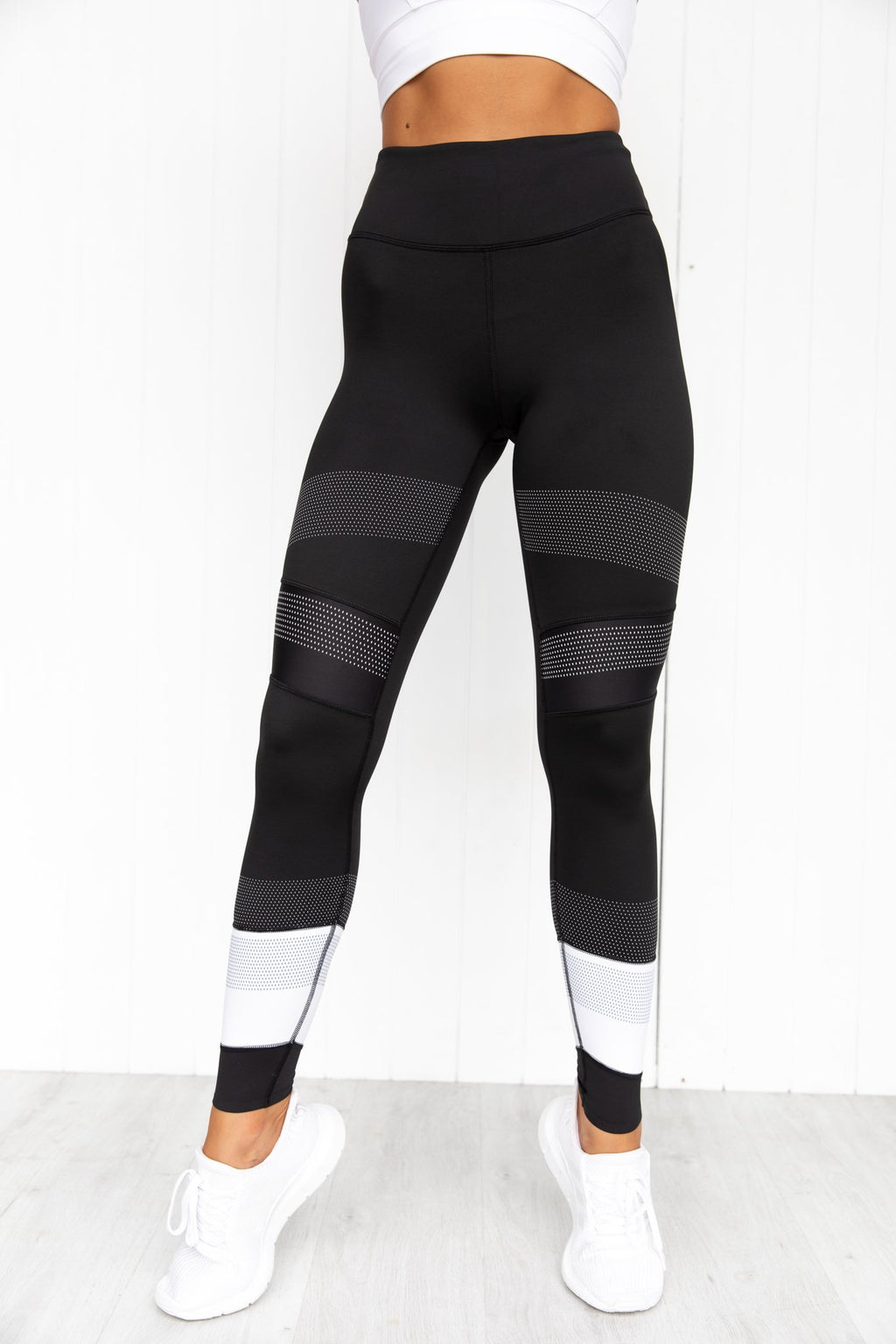 Jade-X Tarmac Black Leggings - PURE DASH