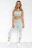 Oasis Seamless Sports Bra - Seafoam Blue