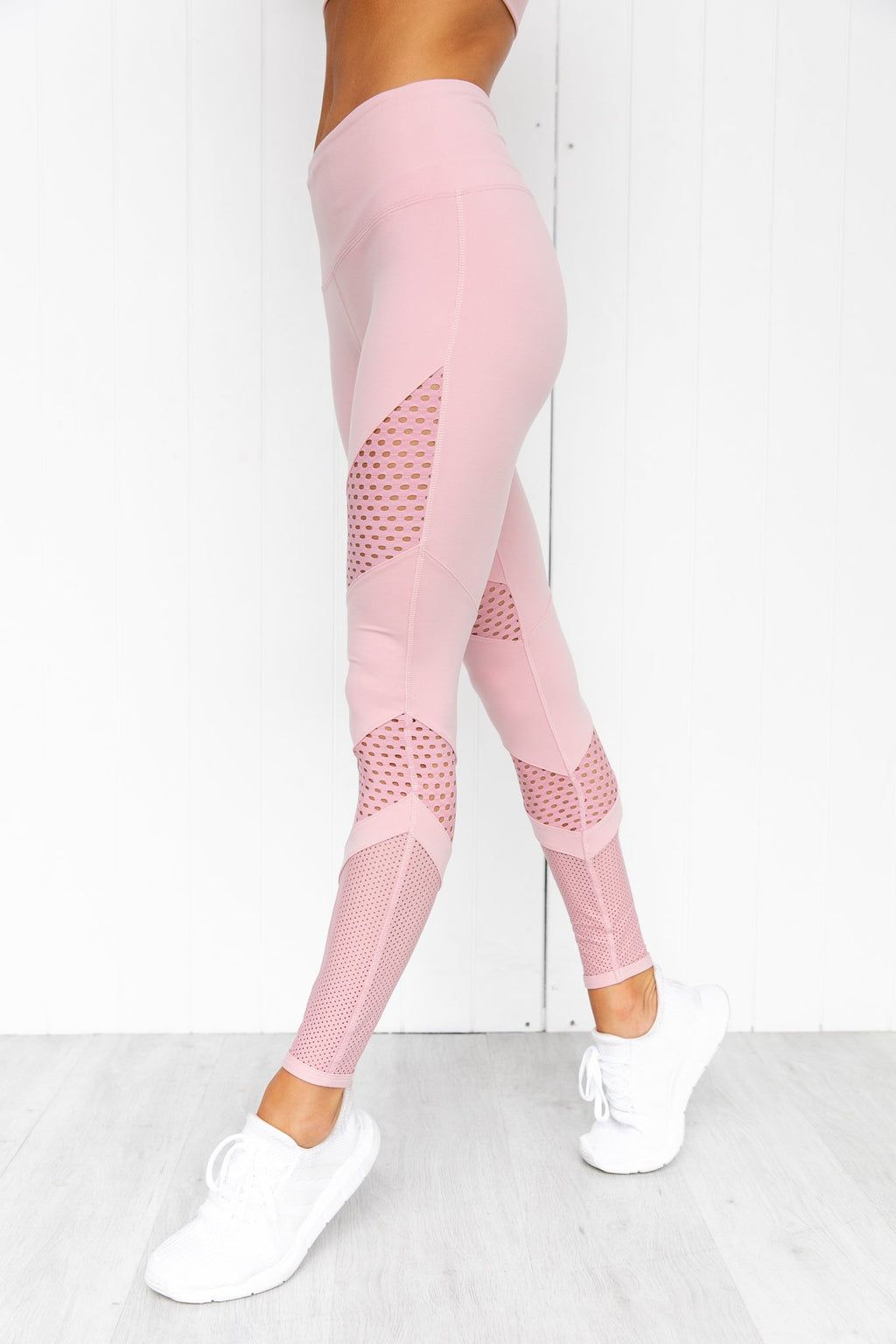 On The Go Full Length Legging - Dusty Rose - PURE DASH