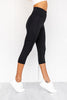 Essential 3/4 Tights - Black - PURE DASH