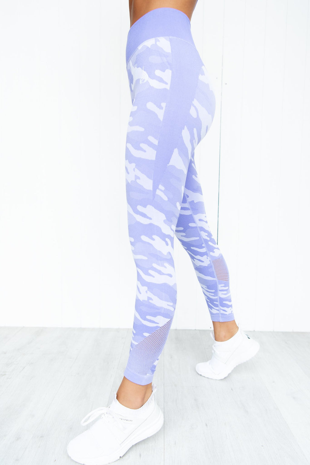 Seamless Tights - Purple Camo - PURE DASH