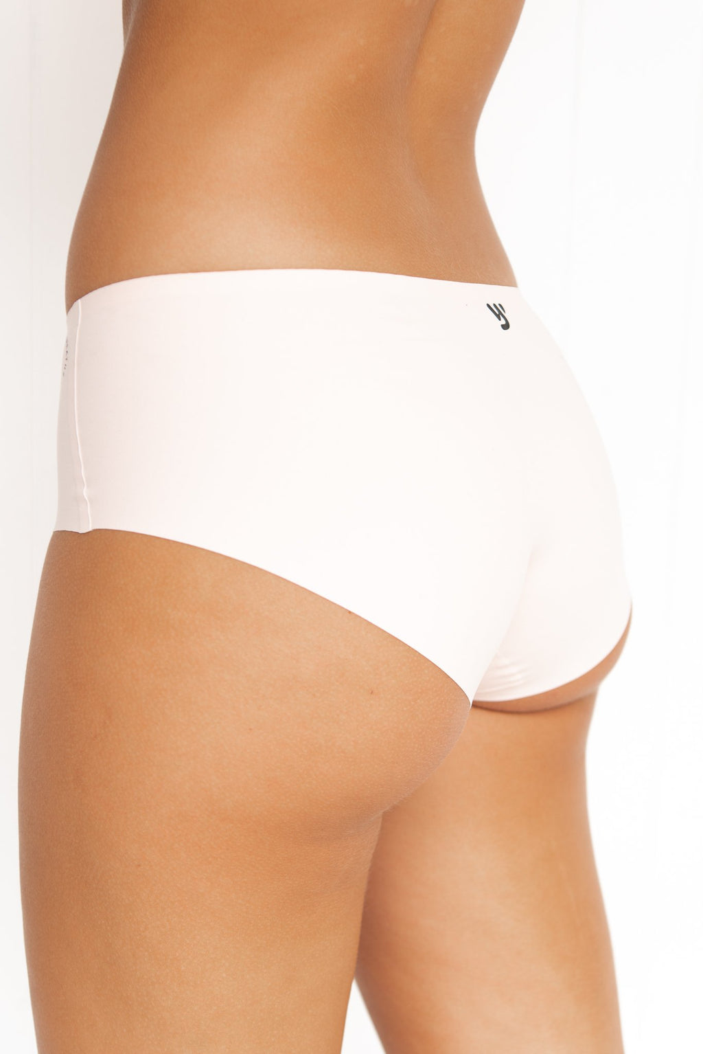 Invisible Active Undies: Buddhi Briefs - Blush Nude - PURE DASH