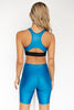 Liquid Spin Class Bike Tight - Mermaid