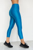 Liquid 7/8 Fight Club Tights- Mermaid