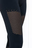 Wellness Warrior Seamless 7/8 Leggings - Black - PURE DASH
