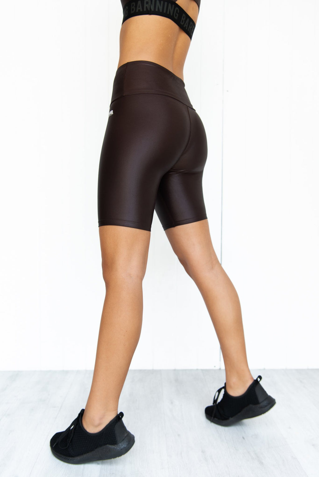 Liquid Spin Class Bike Tight - Chocolate - PURE DASH