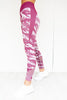 Seamless Tights - Burgundy Camo - PURE DASH