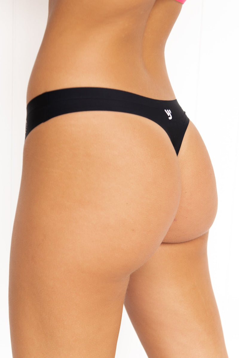 Invisible Active Undies: The OM - G - Black - PURE DASH