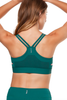 Livvy Deep Teal Sports Bra - PURE DASH