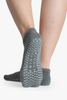 Josie Grip Sock - Charcoal