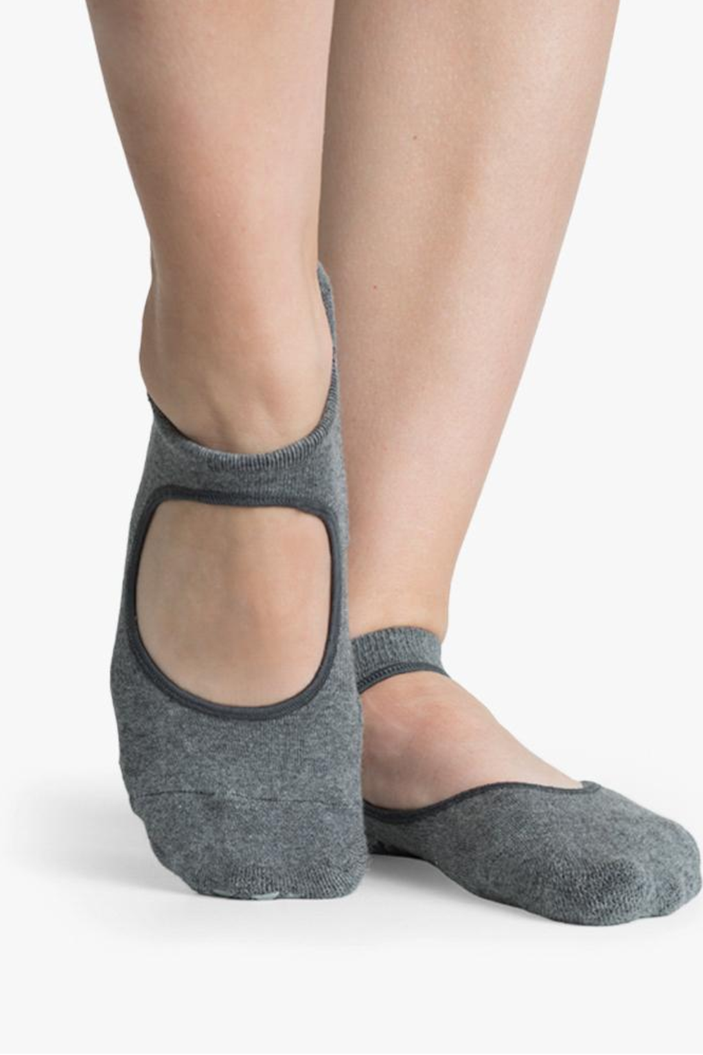 Josie Grip Sock - Charcoal - PURE DASH