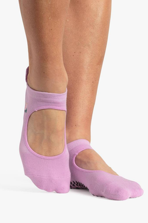 Skye Grip Sock - Purple - PURE DASH