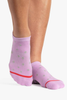 Carol Grip Sock - Purple / Violet