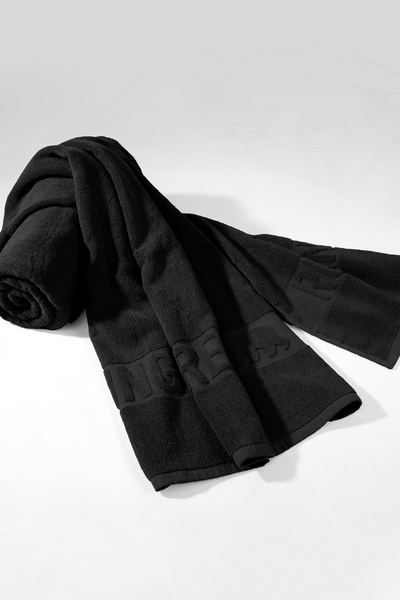 Hit The Mat Towel - Black