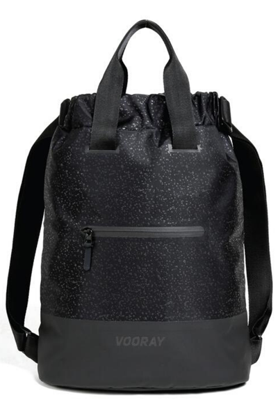 Flex Cinch Backpack - Black Foil
