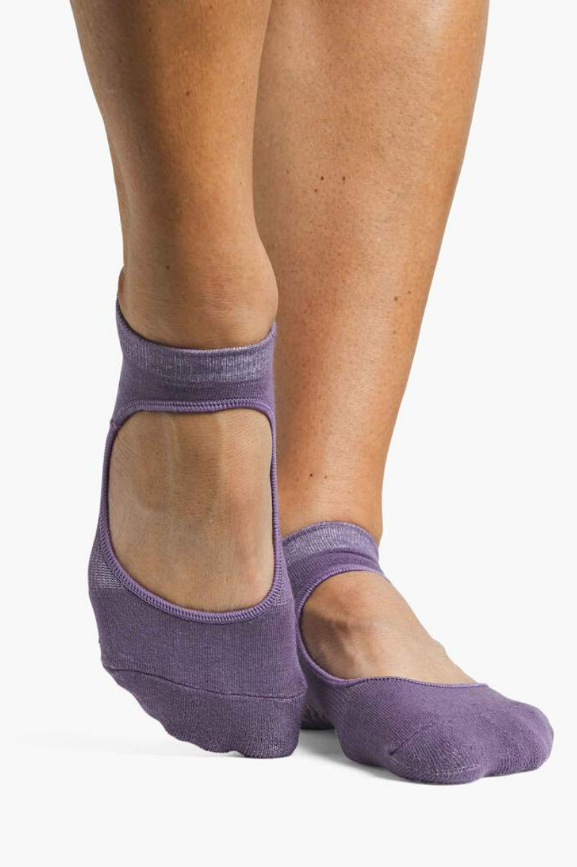 Josie Grip Sock - Grape Jam - PURE DASH