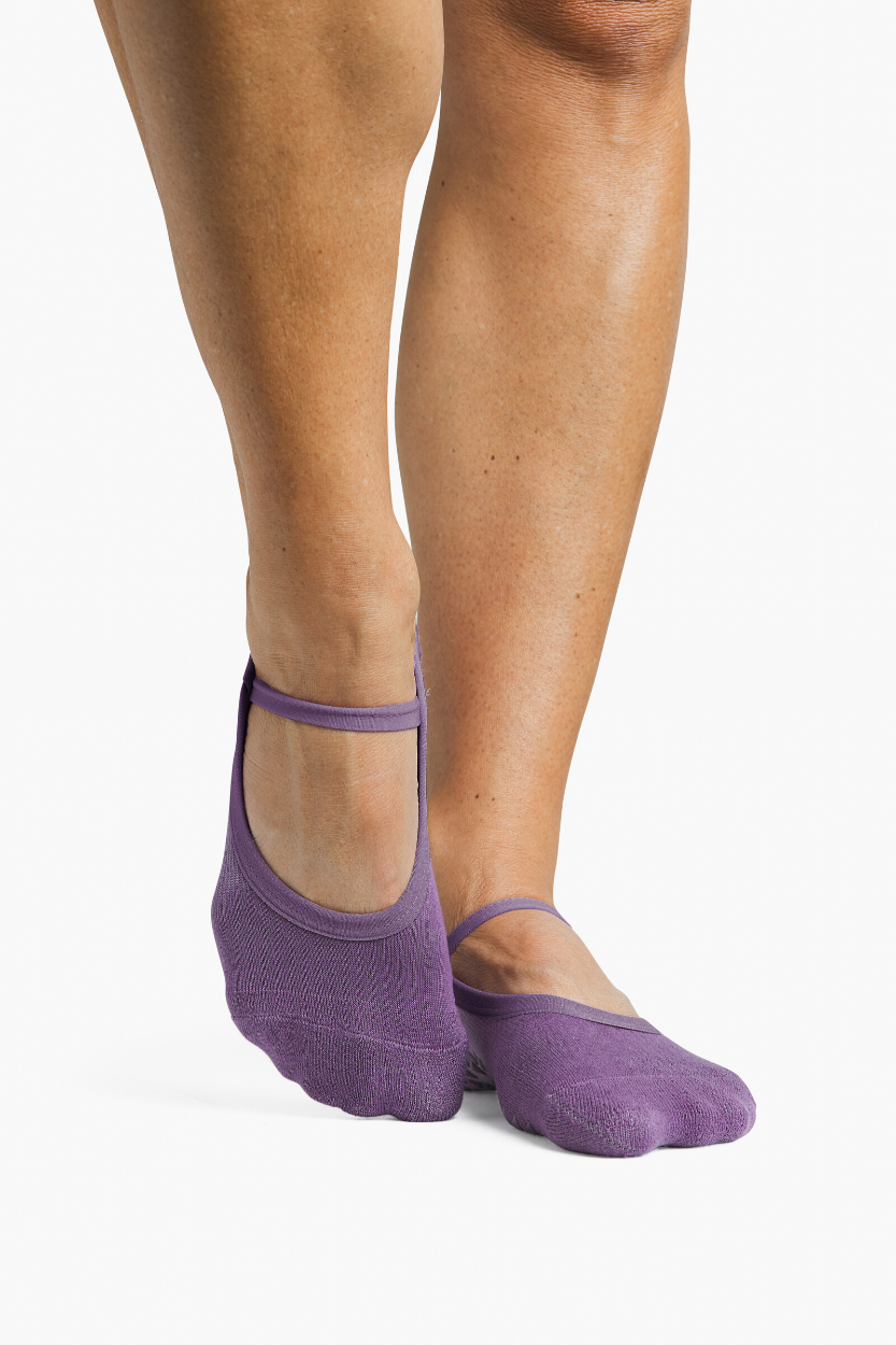 Piper Grip Sock - Grape Jam - PURE DASH