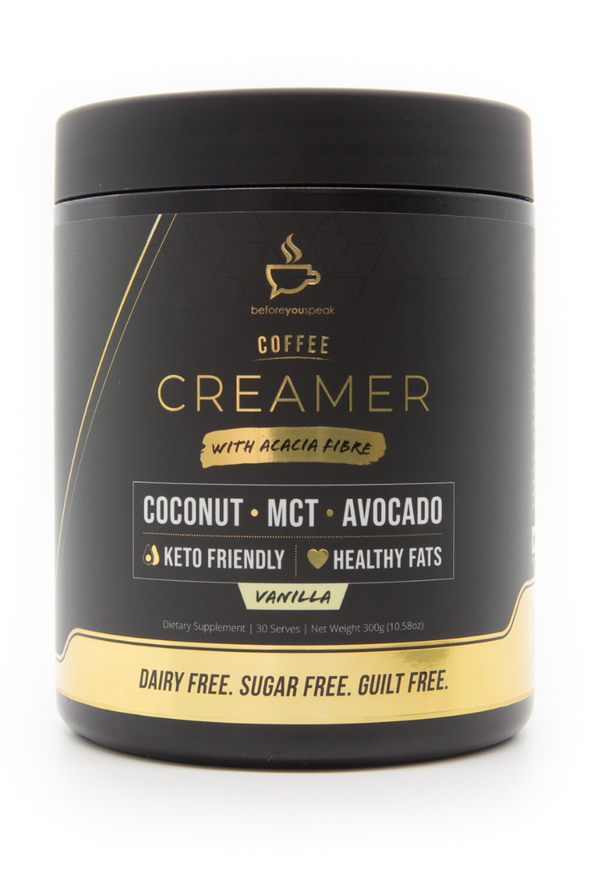 Before You Speak - Vanilla Coffee Creamer 30 serves