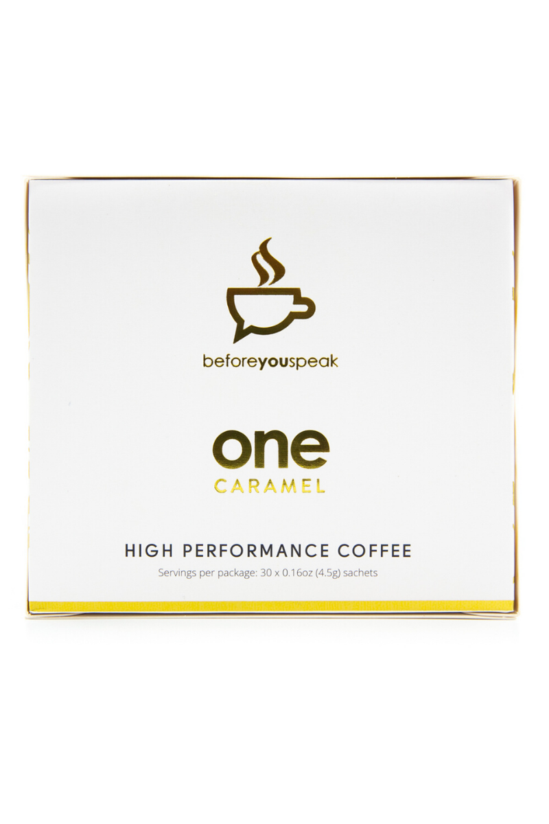 Before You Speak - High Performance Coffee - Caramel 30serves