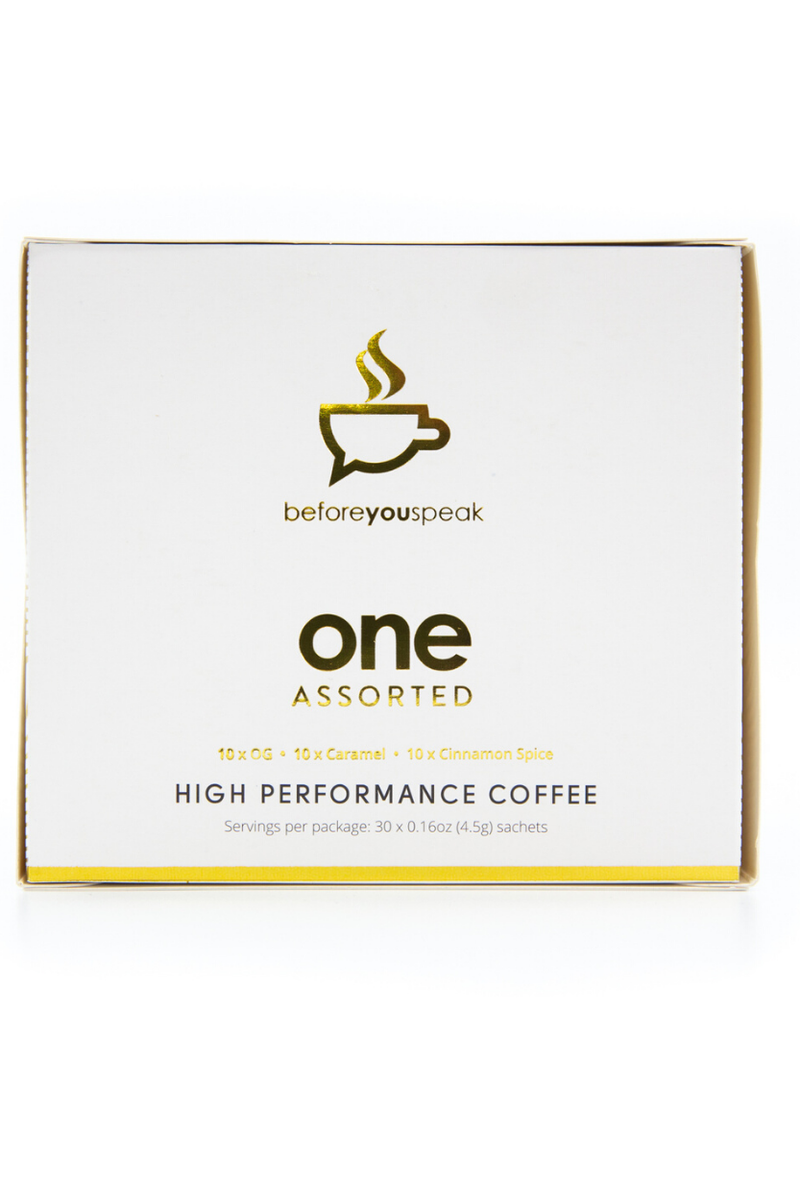 Before You Speak - High Performance Coffee - Assorted 30serves