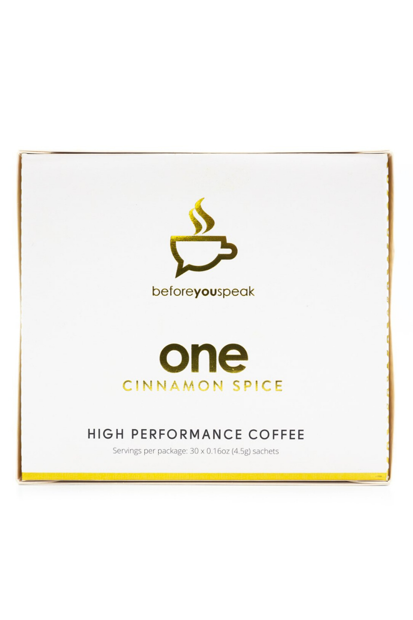 Before You Speak - High Performance Coffee - Cinnamon Spice 30serves