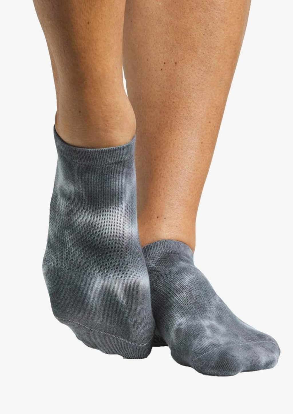 Dominique Grip Sock - Granite Grey