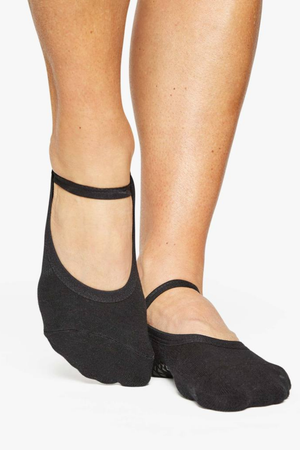 Karina Grip Sock - Black