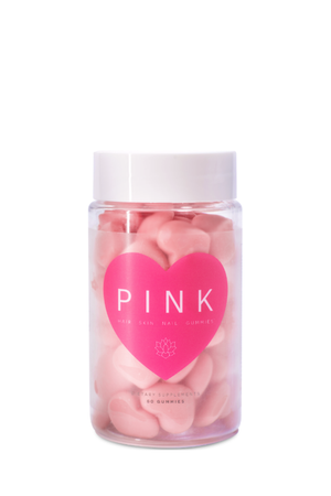 The Pink Bottle - Hair, Skin and Nails Gummies - PURE DASH