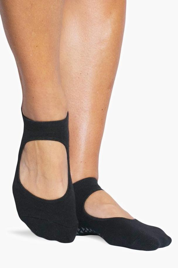 Josie Grip Sock - Black - PURE DASH