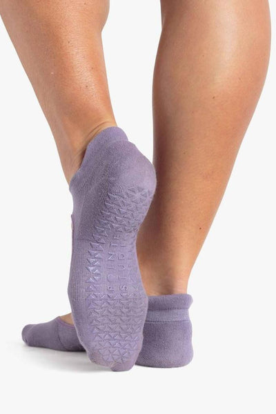 Josie Grip Sock - Purple/Violet
