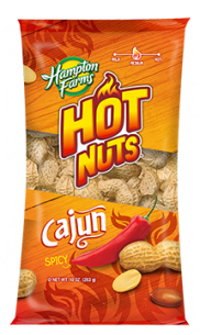 Roasted Peanuts Cajun Hot (bag)
