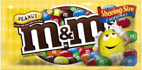 M&M Peanut-King Size 3.27oz