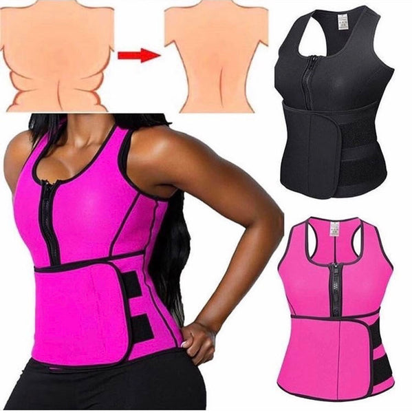 Little Tiny Waist Sauna Vest(Perfect to Workout)