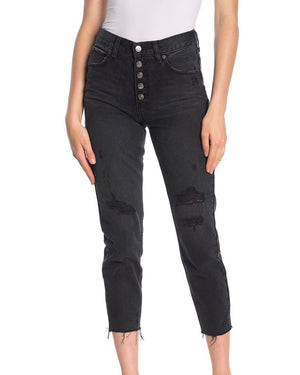 Free People - Blossom Rigid Skinny Jeans - Day or Night/Black