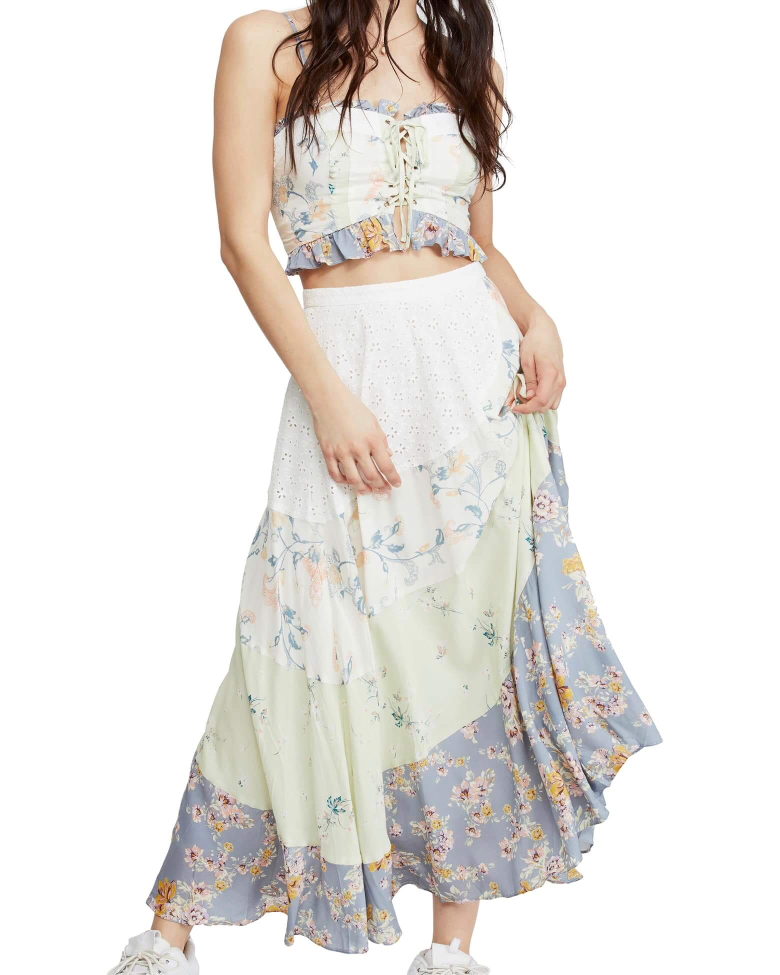 Free People In The Flowers Two Piece Set Floral Shophearts