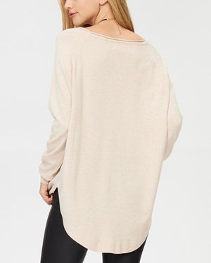 dreamers by debut - shirttail hem sweater - more colors