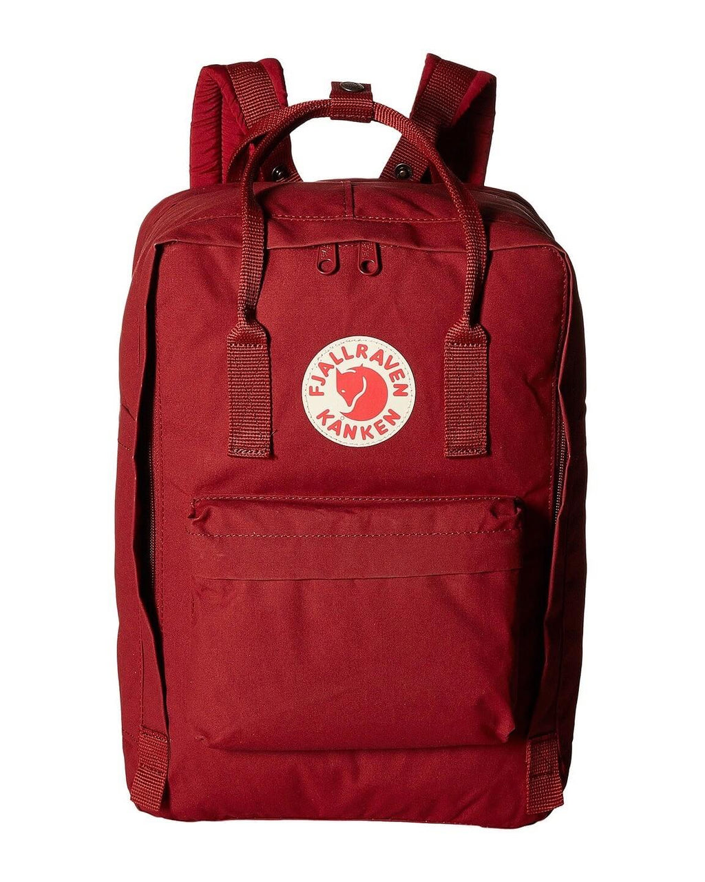 "Fjallraven - The Kanken 15"" Laptop Backpack in Ox Red"